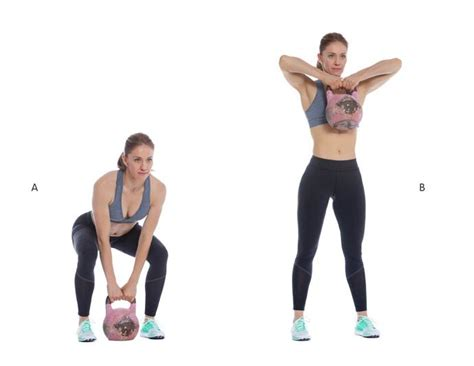 kettlebell pull row upright exercise deadlift sumo workout pulls fitness shoulder perform glutes woman snatch body routine into preview requisites