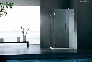 Säulentisch 80 X 80 : paroi de douche design verre 100 x 80 cm cl o ~ Bigdaddyawards.com Haus und Dekorationen