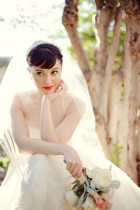 Vintage Makeup Looks For Modern Brides Photos Huffpost