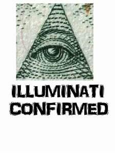 """""""Illuminati Confirmed"""" Stickers by willnofriends Redbubble"""