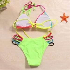 Bright Neon Bandage Bikini on Luulla
