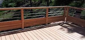Garde Corps Exterieur Bois : garde corp bois pour terrasse wasuk ~ Dailycaller-alerts.com Idées de Décoration