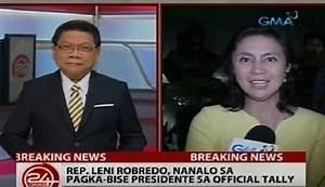 Leni Robredo live interviews on 24 Oras, State of the ...