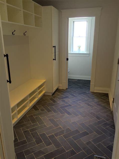 mudroom floor ideas mudroom powder room flooring slate tile done in the