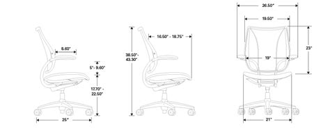 humanscale liberty chair specifications liberty task chair ergonomic seating from humanscale