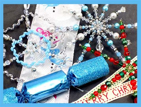 make your own decorations how to make beaded christmas snowflake decorations the bead shop