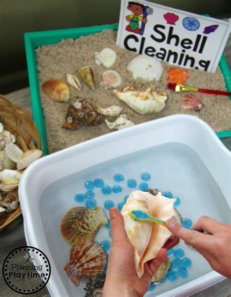 preschool ocean theme dramatic play  sensory centers