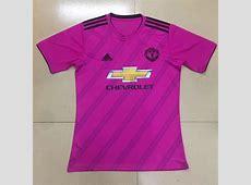 Manchester United 201819 Pink Away Shirt Soccer Jersey