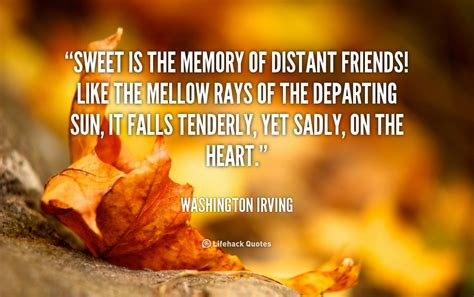 Quotes For Sweet Memories Of Friendship