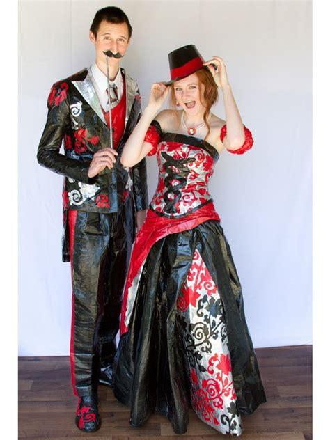 duct tape dress dressedupgirlcom