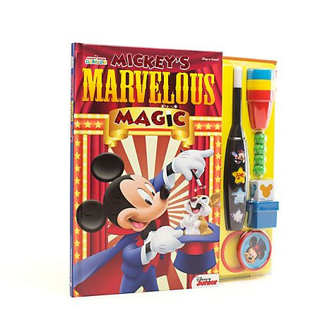 Magic With Mickey Book by Mickey S Marvellous Magic Book