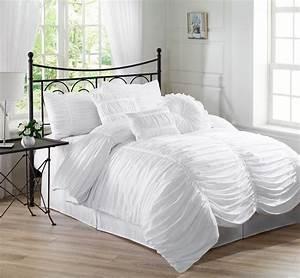 Lovely, White, Bedding, Sets