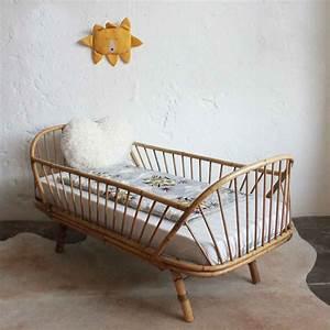 Lit Enfant Vintage : lit daybed enfant rotin vintage e664 chambre charlie pinterest habitaciones de beb s ~ Teatrodelosmanantiales.com Idées de Décoration
