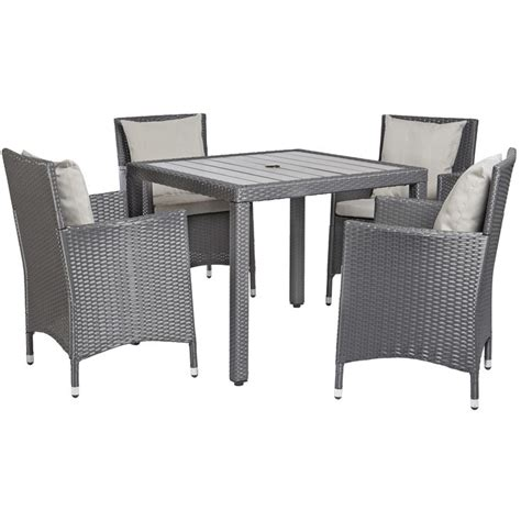 angelo home napa estate grey 5 square indoor outdoor