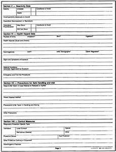 hazard assessment template emergency evaluation form With material safety data sheet template free