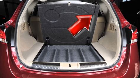 2014 nissan murano spare tire and tools hardtop only youtube
