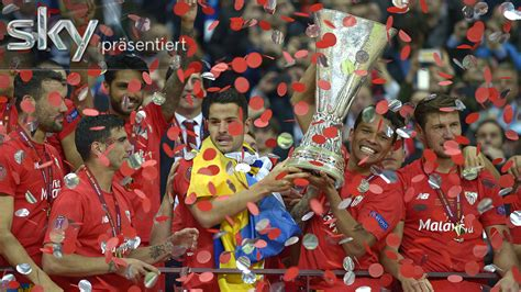 Titelverteidigung im Video: Sevilla feiert historischen ...