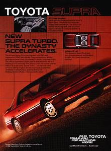 Car Ads And Brochures  Toyota Supra  U2013 Spannerhead