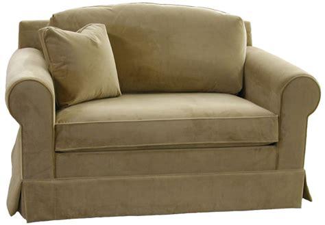 chair and a half sleeper sofa nantucket slipcovered