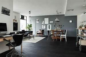 Parquet Stratifié Noir : parquet noir le blog carresol tendance bois d coration ~ Edinachiropracticcenter.com Idées de Décoration