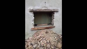 ouvrir une fenetre dans un mur en pierre youtube With ouvrir un mur porteur en pierre