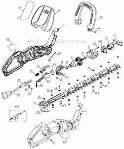 Black And Decker Hh2450 Parts List And Diagram