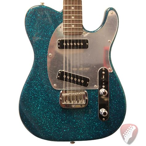 New Gandl Usa Asat Special Electric Guitar In Turquoise