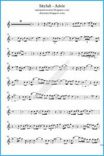Skyfall Violin Sheet Music Free