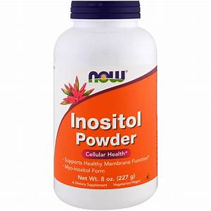 Now Foods  Inositol Powder  8 Oz  227 G