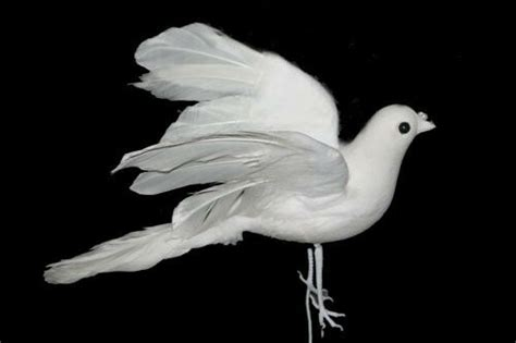 artificial dove white fake doves wedding doves