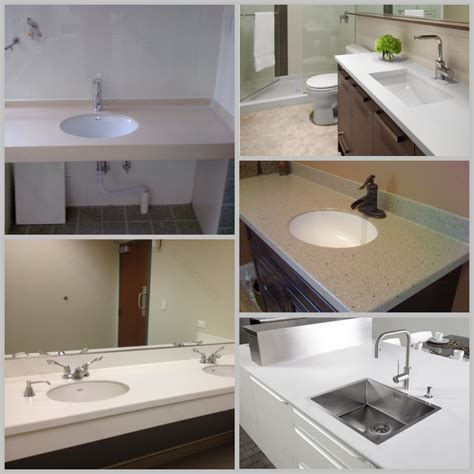 made countertop materials made solid surface onposite solid surface