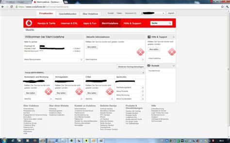 vodafone kundenservice rechnung achtung email vodafone