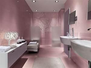 beautiful salle de bain rose et bleu pictures awesome With salle de bain bleu ciel