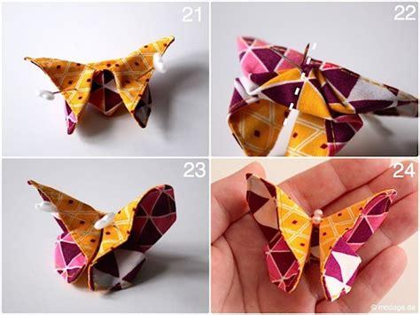 origami schmetterling aus stoffresten naehen handmade kultur