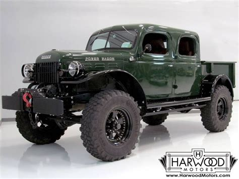 1947 Dodge Power Wagon Crew Cab Pickup   Love Cars