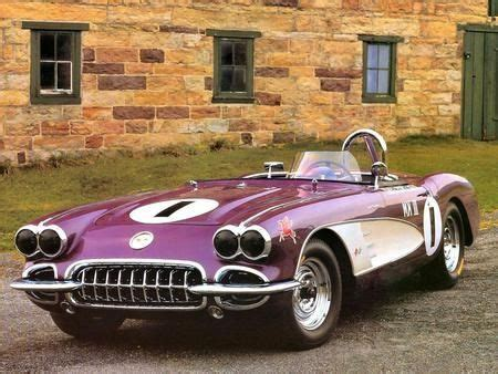 Purple Eater Car by Corvette Purple Eater 1958 59 Pony Up 3