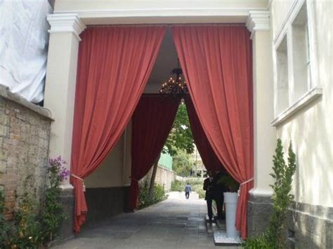Outdoor Drapes by Outdoor Drape Ideas For Restaurants Outdoor Drapes