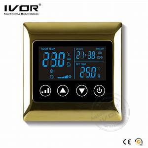 China Ivor Touch Screen Hvac System Room Programmable