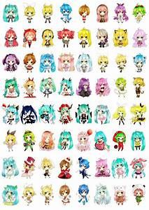 Chibi Vocaloid! My favorite is SeeU . #Vocaloid # ...