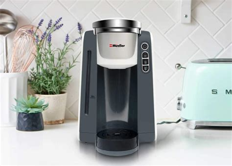 Single serve coffee makers have been a rage among home appliance buyers this year. Mueller Ultima Single Serve Pod Compatible Coffee Maker Machine - Shops Kitchen