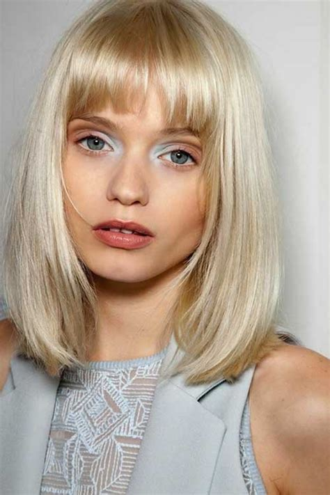 Bob Hairstyles With Bangs by 25 Bob Hairstyles With Bangs 2015 2016 Bob Hairstyles