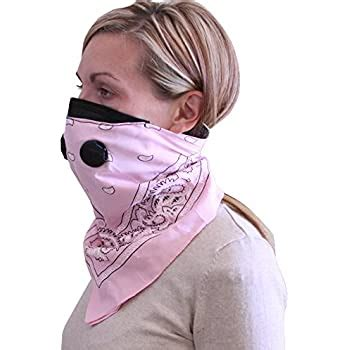 Amazon.com: ATV Tek Dust Mask Bandana (Pink, Universal/X
