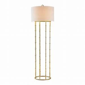 titan lighting brunei 63 in gold leaf floor lamp tn With titan 1 light floor lamp
