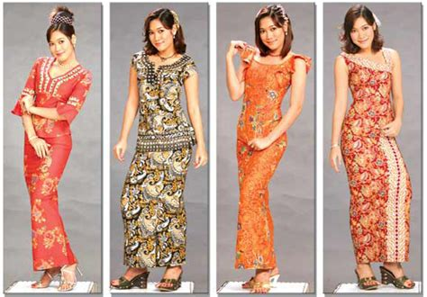 clothing busana fashion shop myanmar batik longyi fashion 2 all things myanmar