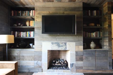 Above Kitchen Cabinet Decorating Ideas - reclaimed wood ideas living room rustic with built in bookshelves built in bookcase czmcam org