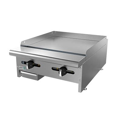 Countertop Griddle Gas by Asber Aemg 24 Griddle Gas Countertop Chef S Deal