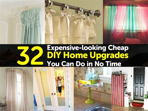 expensive  cheap diy home upgrades