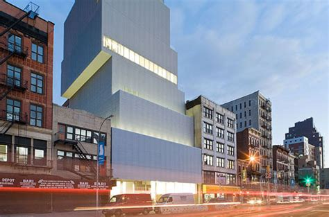 the modern museum new york the new museum new york by sanaa daily icon