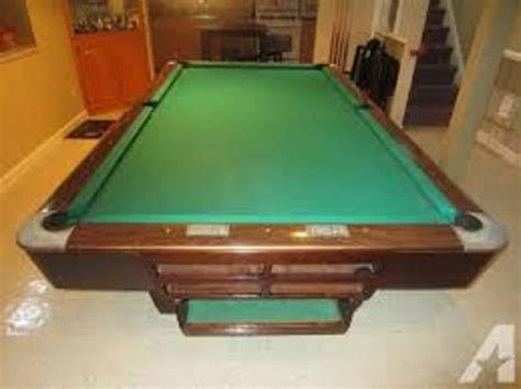 Brunswick Medalist Pool Table for Sale