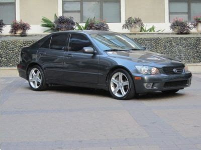 lexus is300 lowered buy used 2004 lexus is300 low miles 66k one owner in